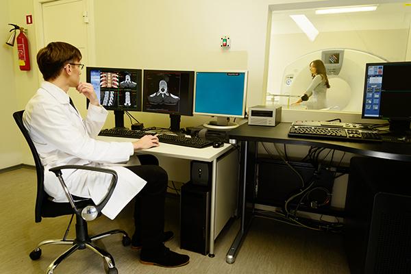 sistema de imagem médica