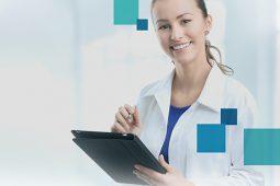 Mais mobilidade para médicos com o visualizador web