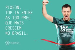 Pixeon, top 15 entre as 100 PMEs que mais crescem no Brasil.