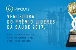 Pixeon recebe prêmio Líderes da Saúde 2017