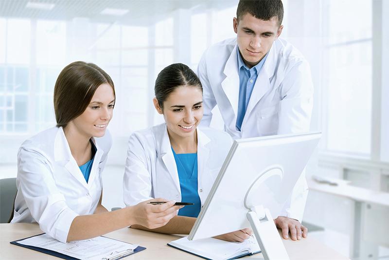 administração de laboratório clínico