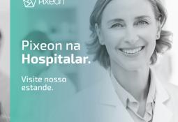 Pixeon lança Recepção Digital e BI na Hospitalar 2018