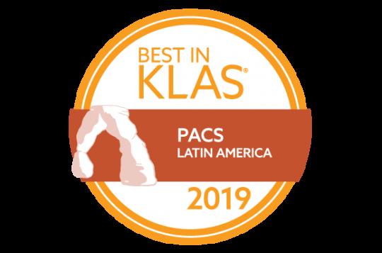 Pixeon ganha o Best in KLAS – PACS Latin America 2019