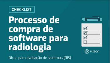 Processo de compra de software para radiologia