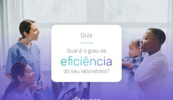 Qual é o grau de eficiência do seu laboratório?